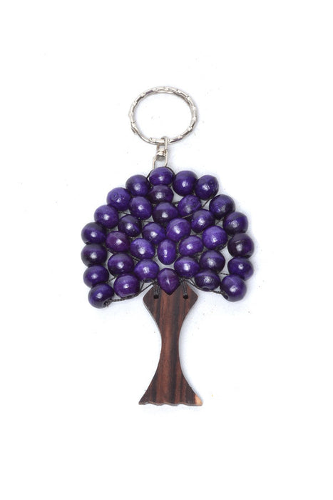Big Wooden Tree Keyring
