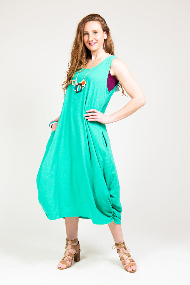 Bamboo Cotton Pocket Maxi