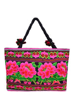 Large Rectangle Embroidered Bag