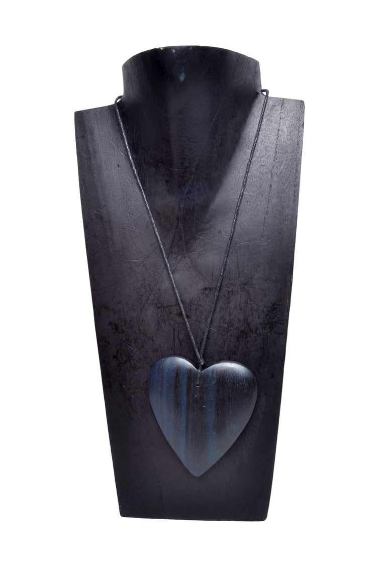 Large Heart Necklace - Keshet Clothing Tasmania