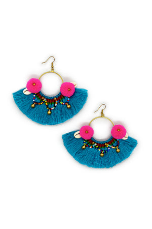 Load image into Gallery viewer, Frida Earrings - Keshet Unique Colourful Women's Clothing Tasmania Australia