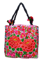 Medium Square Embroidered Bag