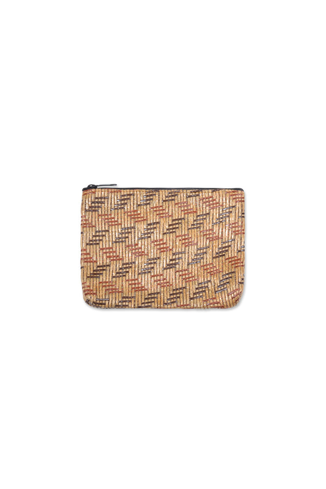 Load image into Gallery viewer, Rattan Coin Bag