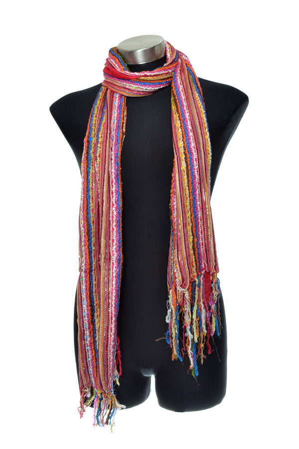Woven Viscose Lurex Summer Scarf - Keshet Clothing Tasmania