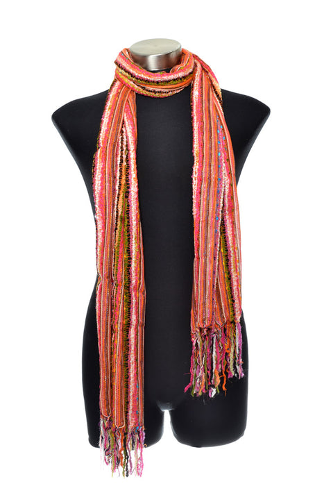 Woven Viscose Lurex Scarf - Keshet Unique Colourful Women's Clothing Tasmania Australia