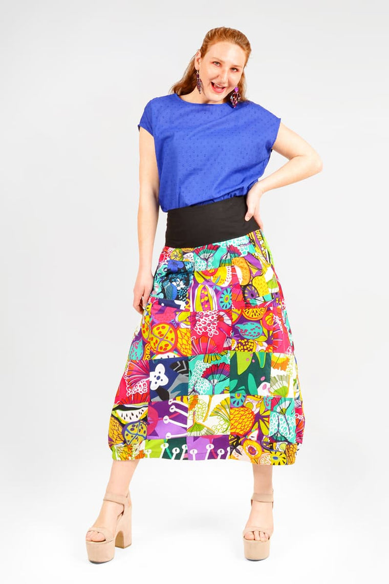 Up-cycled Patchwork Skirt