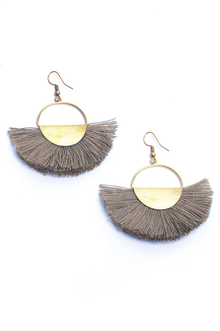 Elemental Fan Earrings