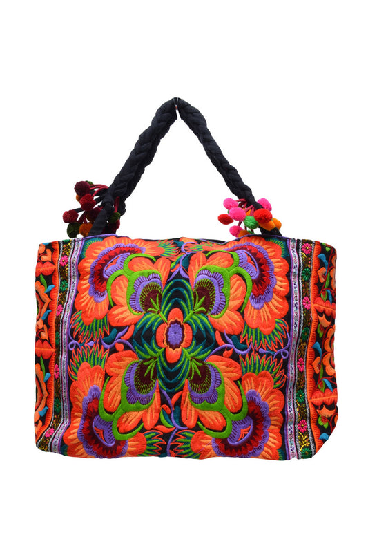 Small Wide Hill Tribe Bag