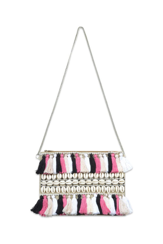 Beach Dreams Hand Beaded Embellished Bag