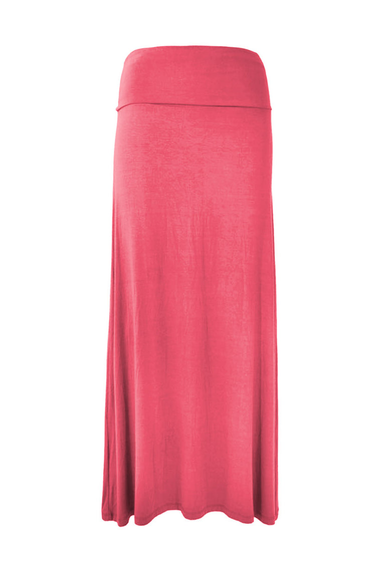 (TLSS) Summer Long Skirt Plain - Keshet Clothing Tasmania