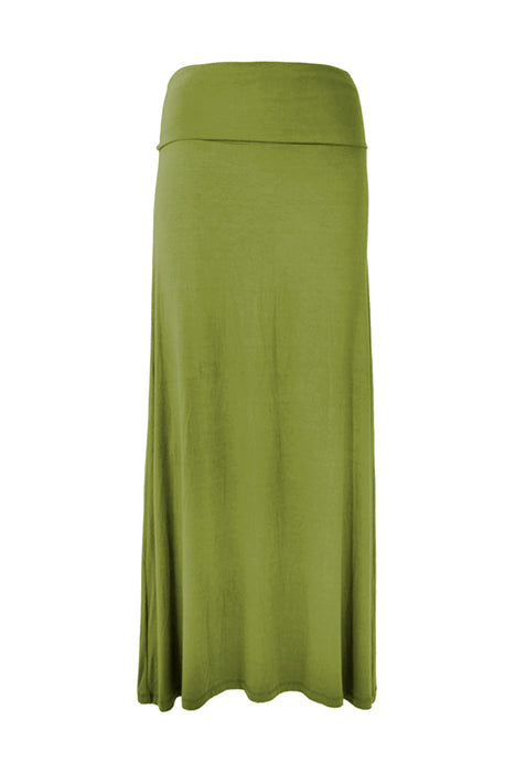 (TLSS) Summer Long Skirt Plain