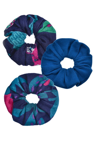 Viscose Scrunchies 3 Pack - Keshet Unique Colourful Women's Clothing Tasmania Australia