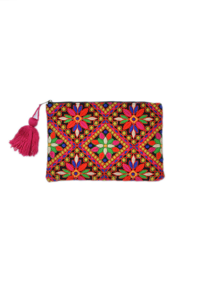 Load image into Gallery viewer, Makeup Clutch - Keshet Unique Colourful Women's Clothing Tasmania Australia