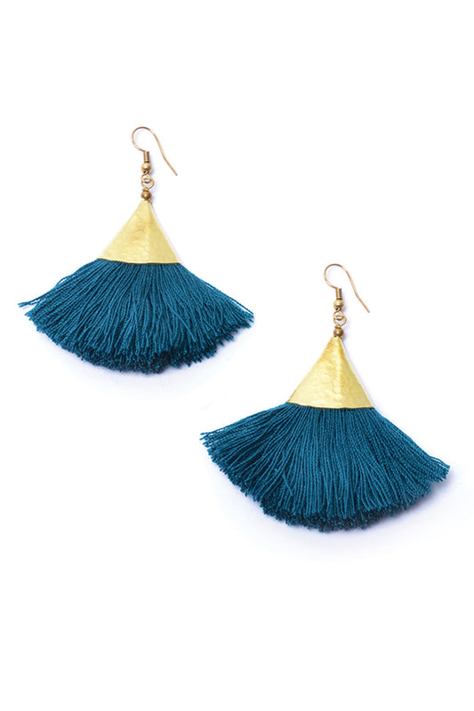 Elemental Triangle Earrings - Keshet Unique Colourful Women's Clothing Tasmania Australia