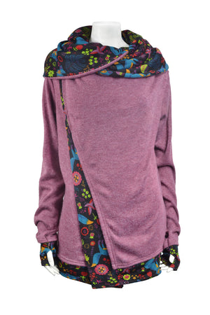 Wendy Layer Hooded Jacket - Keshet Unique Colourful Women's Clothing Tasmania Australia