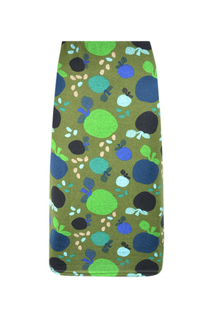 High Waisted 3/4 Pencil Skirt Prints - Keshet Unique Colourful Women's Clothing Tasmania Australia