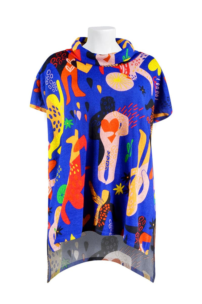 Lexi Tunic Top - Keshet Unique Colourful Women's Clothing Tasmania Australia