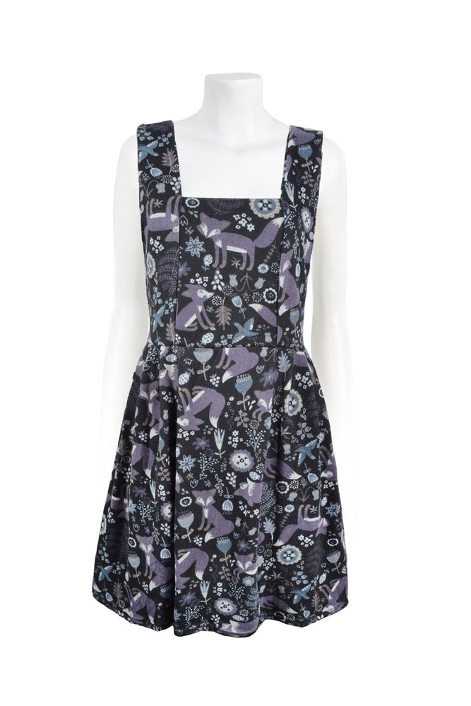 Lotti Pocket Pinafore - Clearance - Keshet Unique Colourful Women's Clothing Tasmania Australia