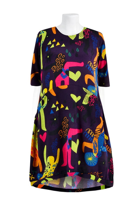 Pippin Pocket Dress - Keshet Unique Colourful Women's Clothing Tasmania Australia