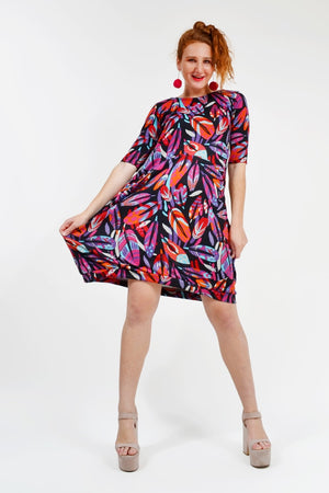 Load image into Gallery viewer, Pippin Pocket Dress - Keshet Unique Colourful Women's Clothing Tasmania Australia