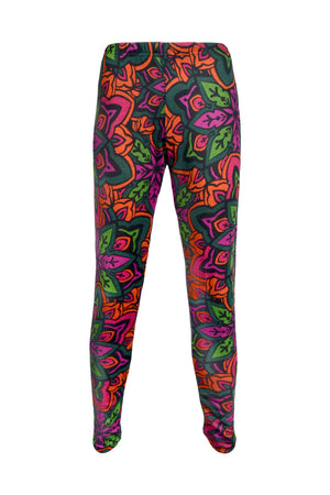 Knit Leggings Prints - Clearance - Keshet Unique Colourful Women's Clothing Tasmania Australia