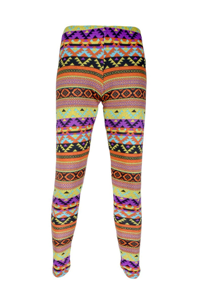 Printed Knit Leggings (XS ONLY) - Clearance
