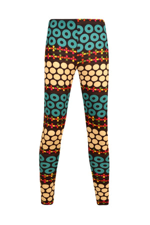 Load image into Gallery viewer, Knit Leggings XXS - Clearance - Keshet Unique Colourful Women's Clothing Tasmania Australia
