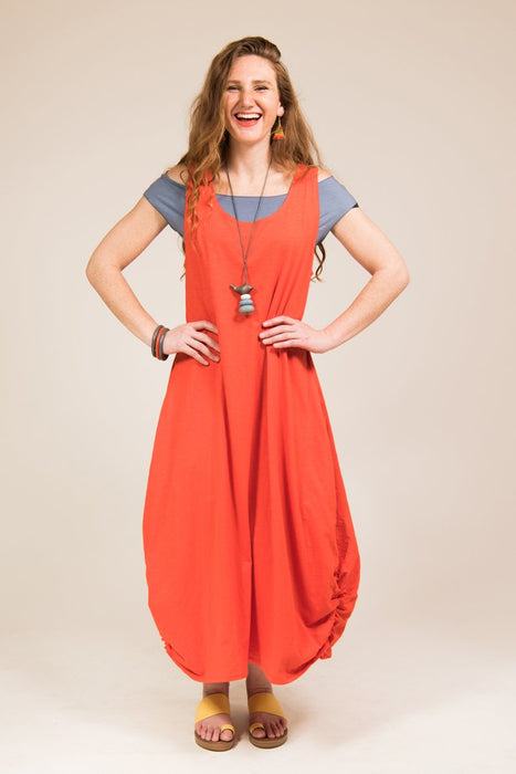 Bamboo Cotton Pocket Maxi - Keshet Unique Colourful Women's Clothing Tasmania Australia