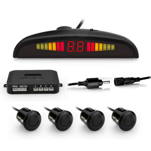 Car LED Parking Sensor with 4 sensors