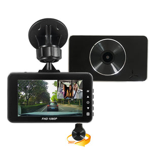 Private Design 3.0 inch Mstar MSC8328P Dual Camera Car DVR Full HD 1080P Sony IMX323 Super Slim Car Black Box