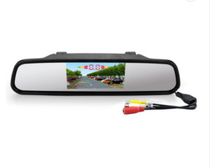 "Wireless 4.3"" Mirror Display Parking Sensor"