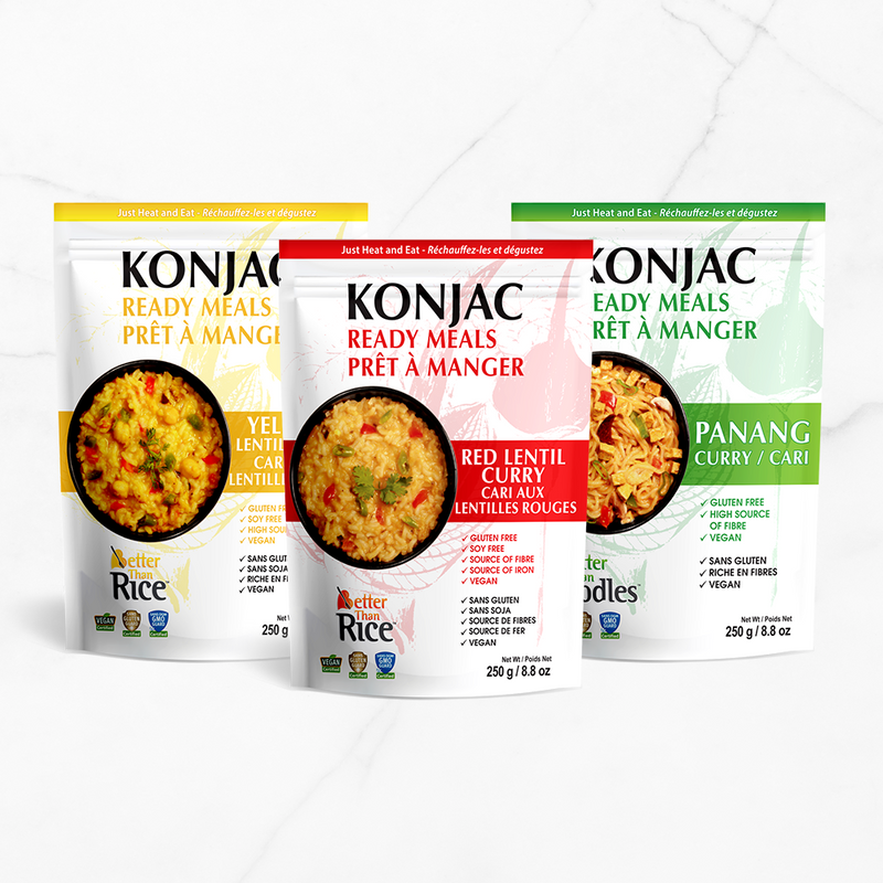 New Product Alert: Konjac Ready Meals!