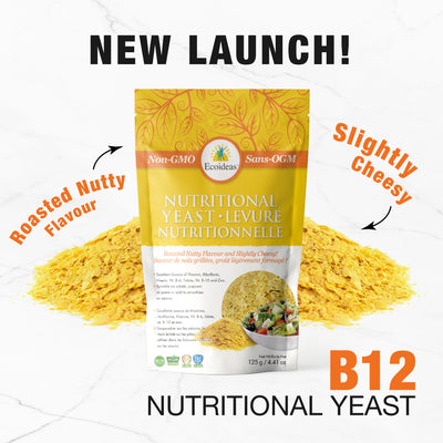 New Ecoideas Product Alert: Nutritional Yeast!