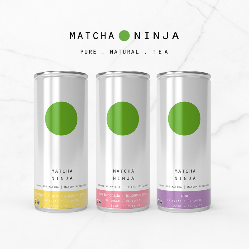 Introducing Matcha Ninja Sparkling Cans!