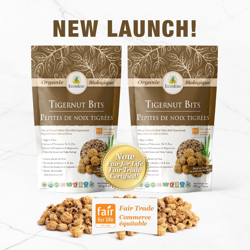 Introducing Ecoideas New Tigernut Bits!