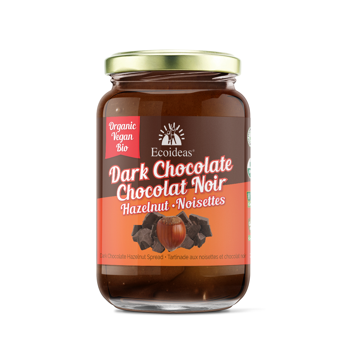 Organic Fair Trade Dark Chocolate Spread - (300g)