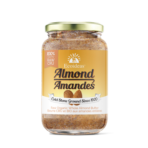 Organic Whole Almond butter - (300g)