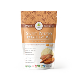 Organic Fair Trade Sweet Potato Flour - (454g)