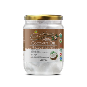Coco Natura - Organic Raw Coconut Oil - (500ml)