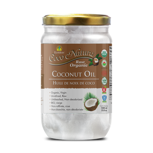 Coco Natura - Organic Raw Coconut Oil - (1000ml)