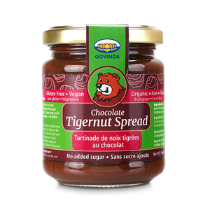 Govinda - Chocolate Tigernut Cream - Organic Spread - (220g)