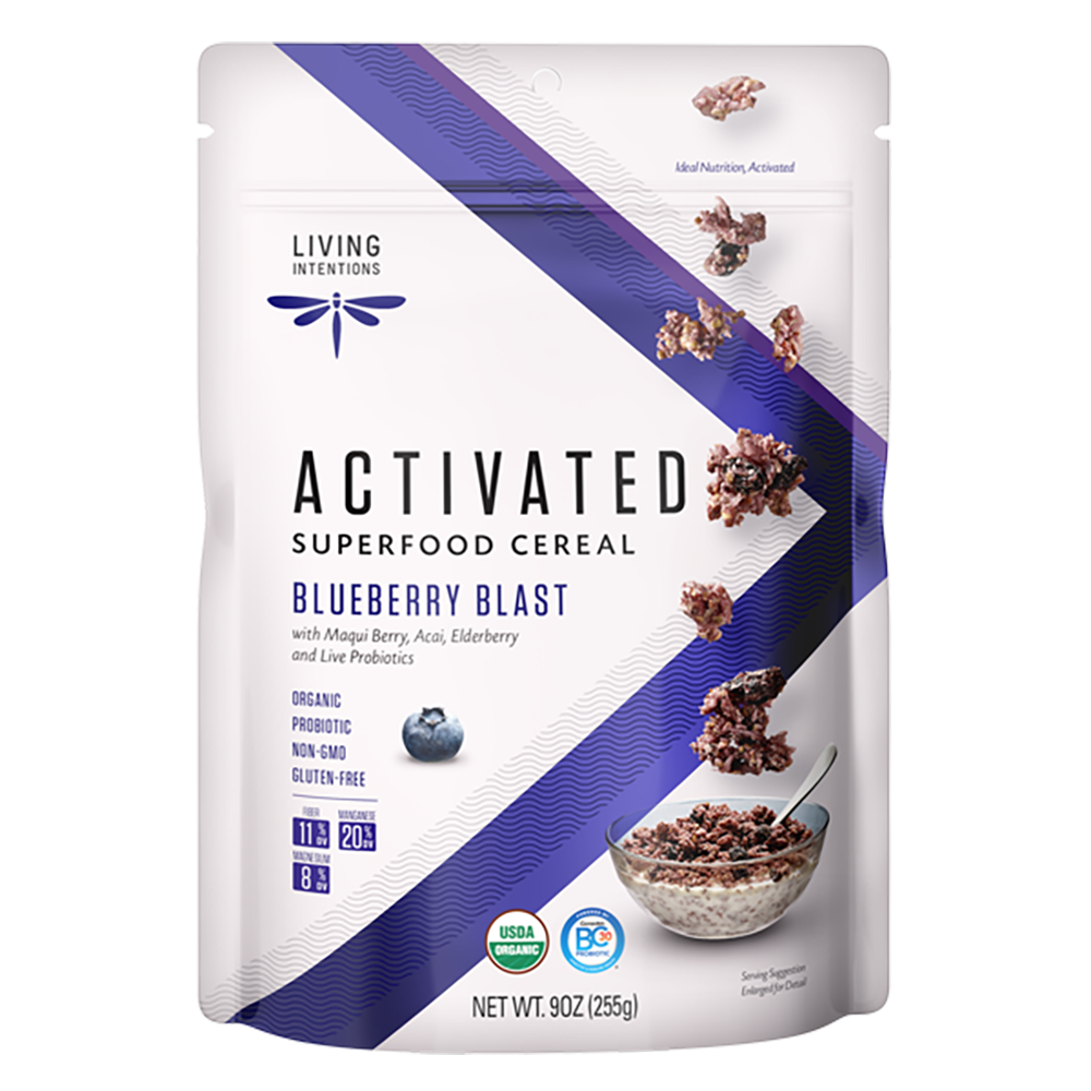 Superfood Cereal - Blueberry Blast, w/Live Cultures - (255g)