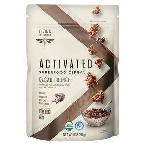 Superfood Cereal - Cacao Crunch, w/Live Cultures - (255g)