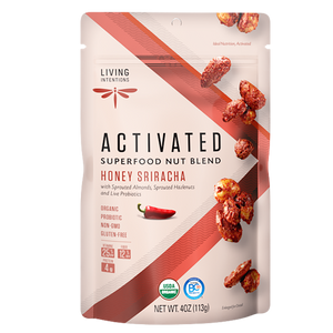 Superfood Nut Blends - Honey Sriracha, w/Live Cultures -113g