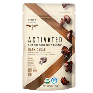 Superfood Nut Blends - Dark Cacao, w/Live Cultures - (113g)