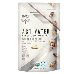 Superfood Nut Blends - White Chocolate, w/Live Cultures 113g
