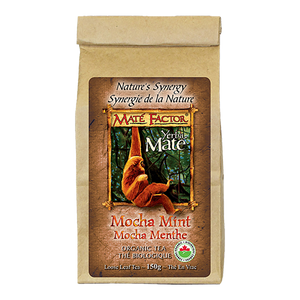 Org. Mocha Mint Loose Leaf Tea - (150g)