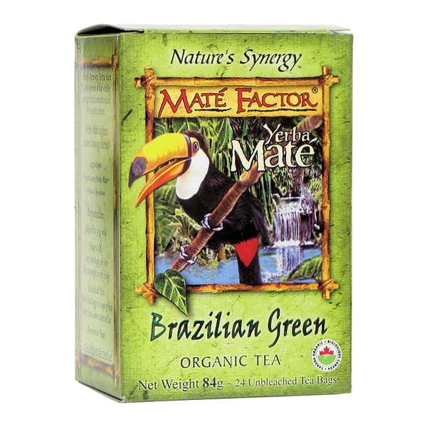 Org. Brazilian Green Tea Bags - (84g)