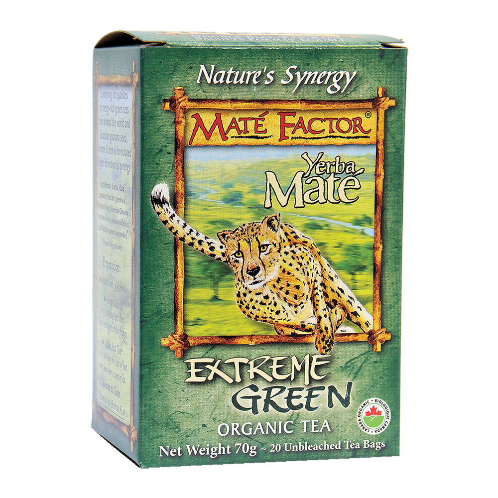 Org. Extreme Green Tea Bags - (70g)