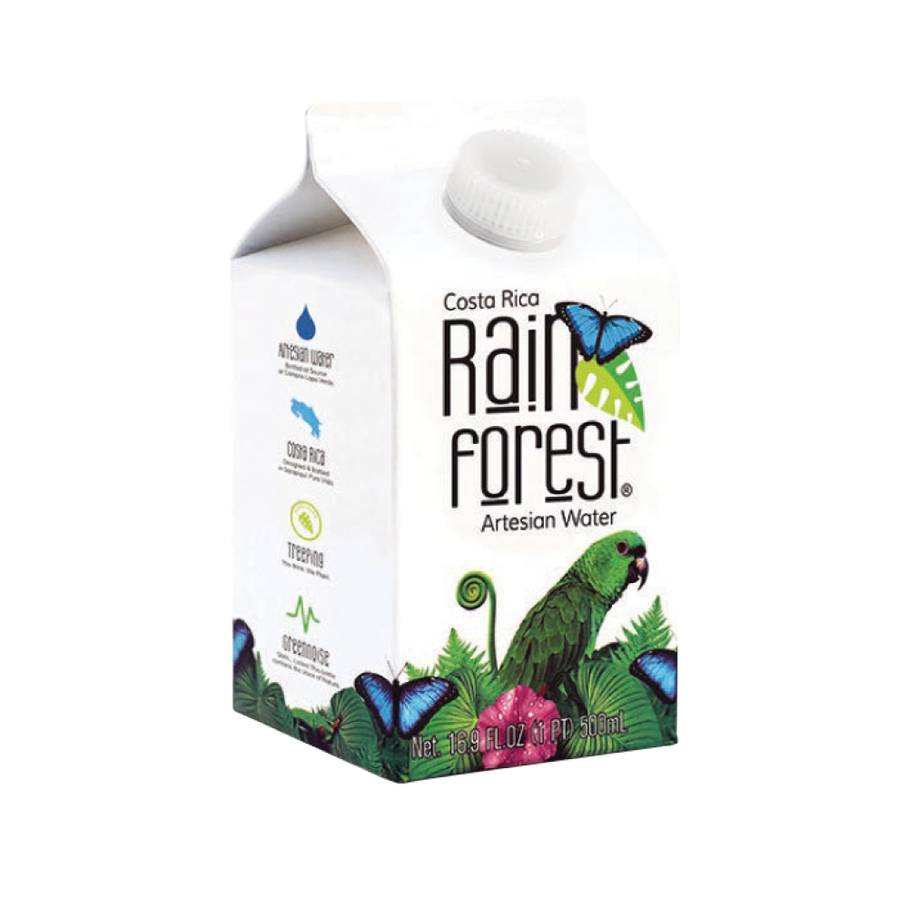 RainForest Water Cardboard - (500ml)